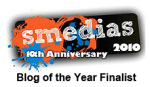 blog of the Year badge